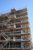 Building with scaffolding Royalty Free Stock Image