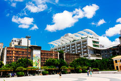 The building scenery of Macao Stock Images