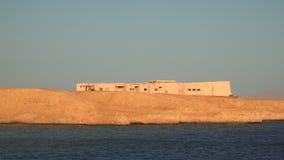 A building on seacoast  Deserted beach. A building on seacoast. Deserted beach stock video footage