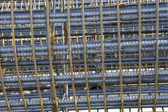 rebar cages Stock Photography