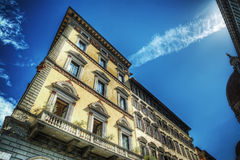 Building seen from below in Florence Stock Photos