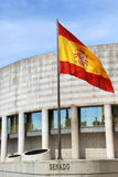 Building of the Senate in Spain Royalty Free Stock Photography