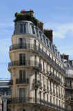 Building in 4 septembre street in Paris Royalty Free Stock Photography