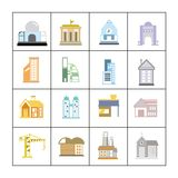 Building set Royalty Free Stock Photography