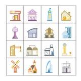 Building set Stock Photos