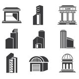 Building set Royalty Free Stock Photos