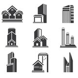 Building set Royalty Free Stock Photo