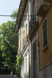 Building in side street #2. Salsomaggiore Italy Stock Photo