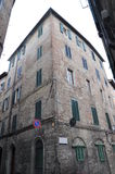 Building in Siena Royalty Free Stock Photo