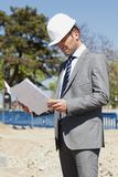 On building site Royalty Free Stock Photo