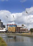 Building site 2. Building site, Ipswich Waterfront, Suffolk, United Kingdom Stock Photos