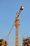 Building site. View of building site in wuhan city ,hubei provicne ,china Stock Photography