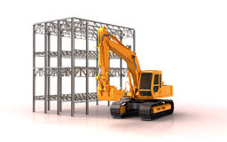 Building site Royalty Free Stock Photo