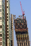beijing CCTV building site  Royalty Free Stock Photography