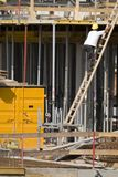Building site. A scene at a building site Royalty Free Stock Photography
