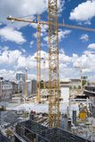 Building site. A building site scene in germany Royalty Free Stock Image