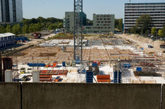The building site in Amsterdam Stock Photo