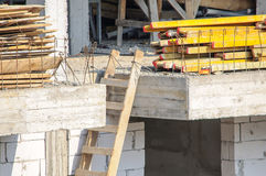 Building site construction materials Stock Photography