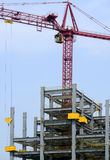 Building site with crane Stock Image