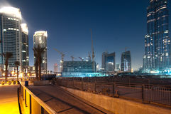 Building site, Dubai Stock Image