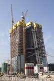 Building site of ECB, Frankfurt Stock Photo