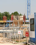 Building site entrace Royalty Free Stock Photo