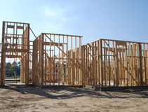Building Site Framing Stock Images