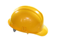 Building-site helmet Stock Images