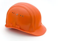 Building-site helmet Royalty Free Stock Photo