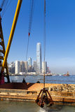 Building Site in Hong Kong Royalty Free Stock Photo
