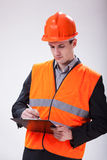 Building site manager Royalty Free Stock Images
