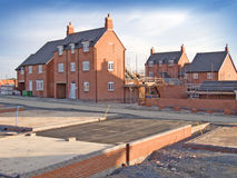 Building Site - New Home Stock Images