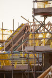 Building site with new homes Royalty Free Stock Image