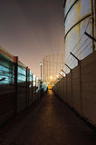 Building site at night Stock Image
