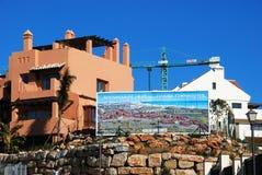 Building site, Riviera del Sol. Royalty Free Stock Photo