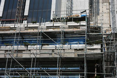 Building Site Scaffold I Stock Images