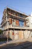 Building site scaffolding Stock Photos