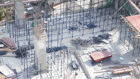 Building site shapes Mumbai, India Stock Photography
