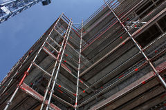 Building site, tools and scaffold I Stock Photography