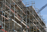 Building site, tools and scaffold 9 Royalty Free Stock Images