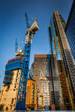 Building skyscapers Stock Image