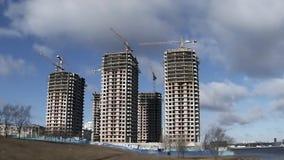 Building skyscrapers Stock Photo