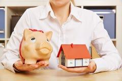 Building society savings Royalty Free Stock Photo