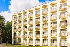 Building of the Spa Resort Medical  sanatorium  Druskininkai Royalty Free Stock Image
