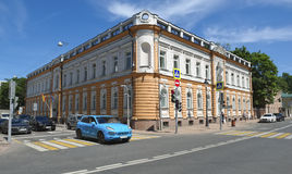 Building of the Spanish Embassy in Moscow Stock Image