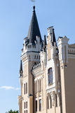 Building with a spire Stock Image