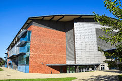 Building of the sports hall Royalty Free Stock Image