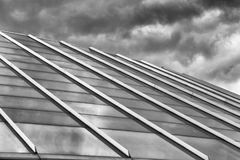 The Square Achitecture. A building with square architecture Royalty Free Stock Photography