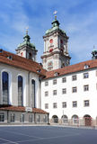 The building of St. Gallen University. Royalty Free Stock Photos