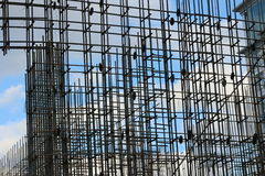 Building of steel reinforcement Stock Images